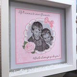 If Nannas Or Mums Were Flowers Frame - Fizzy Strawberry Gifts