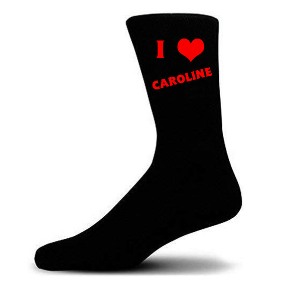 Men's Socks - I Heart (Name)