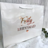 Personalised Large Wedding Gift Bag - Bridal Party