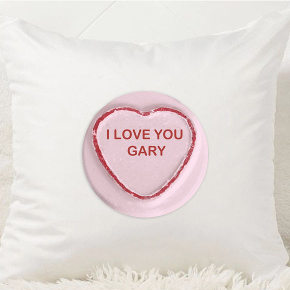 Loveheart Sweet Cushion - Fizzy Strawberry Gifts