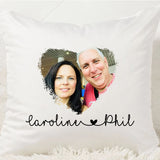 Love Heart Photo Cushion - Fizzy Strawberry Gifts