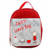 Personalised Lunch Bag - Fizzy Strawberry Gifts