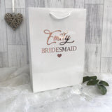Personalised Medium Wedding Gift Bag - Bridal Party