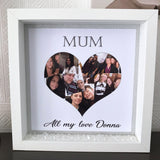 Mum Photo Heart Frame - Fizzy Strawberry Gifts