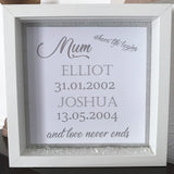 Mum (Or Nan) Where Life Begins Frame - Fizzy Strawberry Gifts