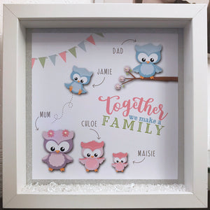 Together We Make A Family Frame - Fizzy Strawberry Gifts