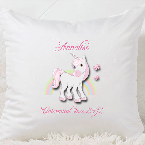 Unicornical Cushion (Pink)