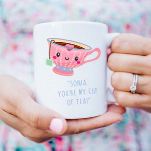 Valentine's Day Mug - My Cup Of Tea - Fizzy Strawberry Gifts