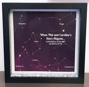 """When Stars Align"" Frame - Fizzy Strawberry Gifts"