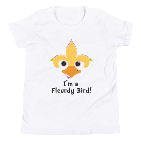I'm a Fleurdy Bird Youth T Shirt