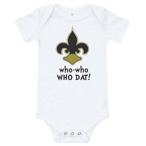 who-who WHO DAT! Onesie