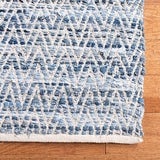 5 x 8 Chevron Denim Rug