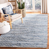 Safavieh Rug with denim navy blue chevron pattern area rug from One Cottage Way