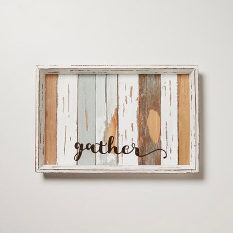 Reclaimed Wood Gather Tray