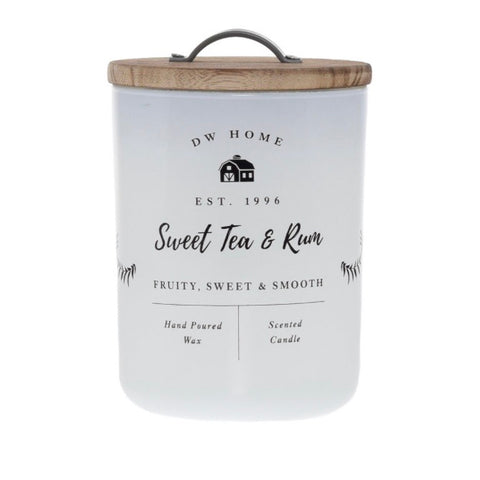 Sweet Tea & Rum Farmhouse Candle