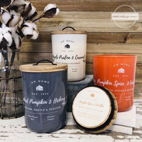 Fall Farmhouse Candles
