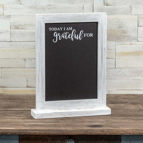 Grateful Tabletop Chalkboard