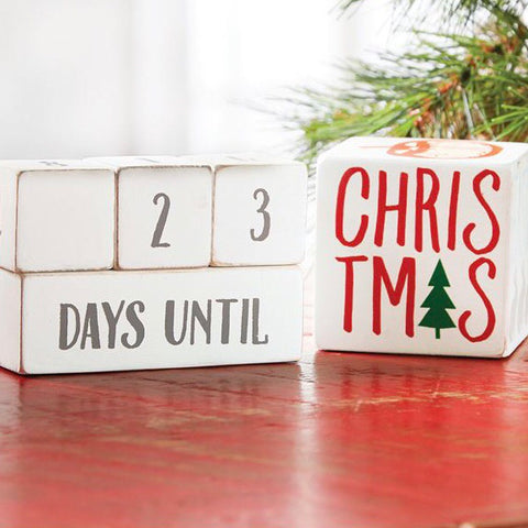 Holiday Countdown Blocks