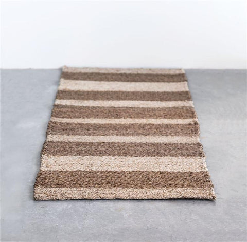 Jute Stripe Runner