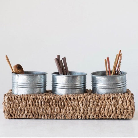 Hand Woven Caddy