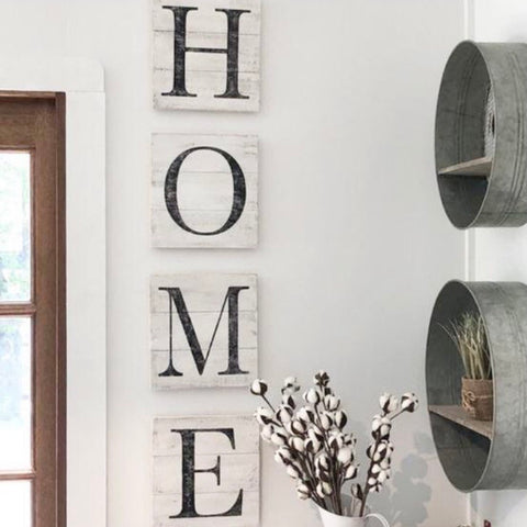 HOME Letter Sign (4 piece set)