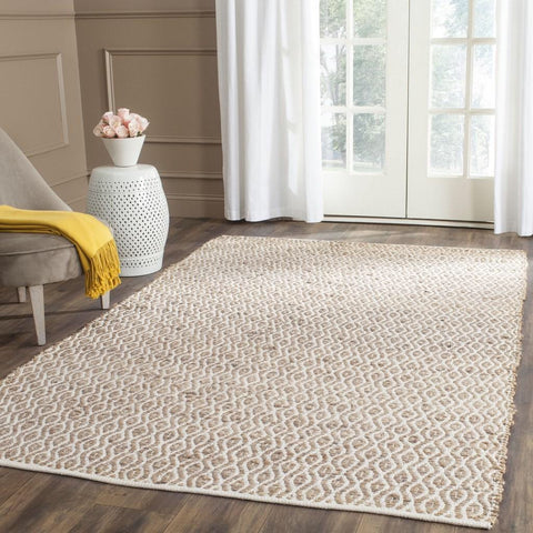 3 x 5 Ivory and Natural Rug