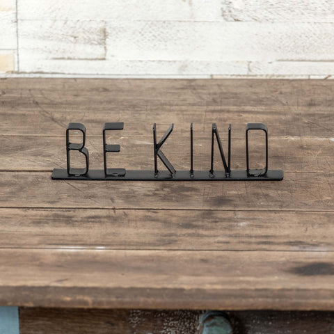 Be Kind Tabletop Sign