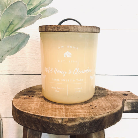 Wild Honey & Clementine Farmhouse Candle