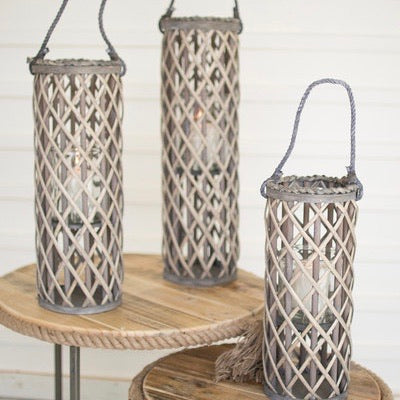 Gray Willow Lanterns