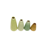 Pistachio Color Vase Set