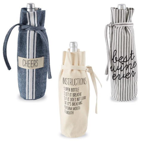Mud Pie Bistro Wine Bags
