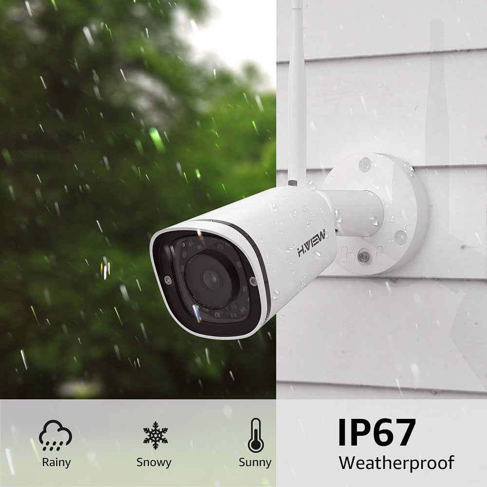 5MP Wireless Outdoor Security IP Camera, 2.4/5Ghz WiFi Cam with Audio, Super HD Night Vision - Home Security Camera