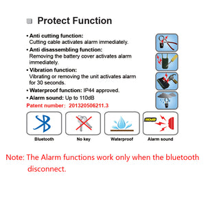 Antivol Bluetooth Smart Lock