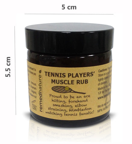 Tennis Players' Muscle Rub 60ml