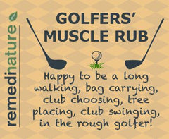 Golfers' Muscle Rub 60ml