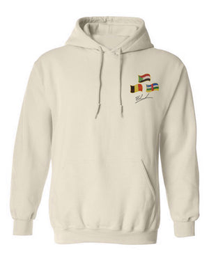 "Custom ""Multi Country Hoodie"" - Elrayah's"