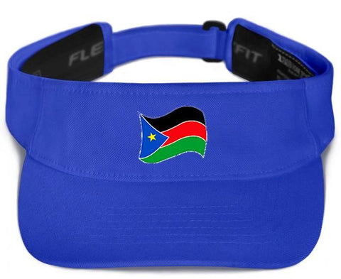 "Custom ""Visor"" w/ Flag"