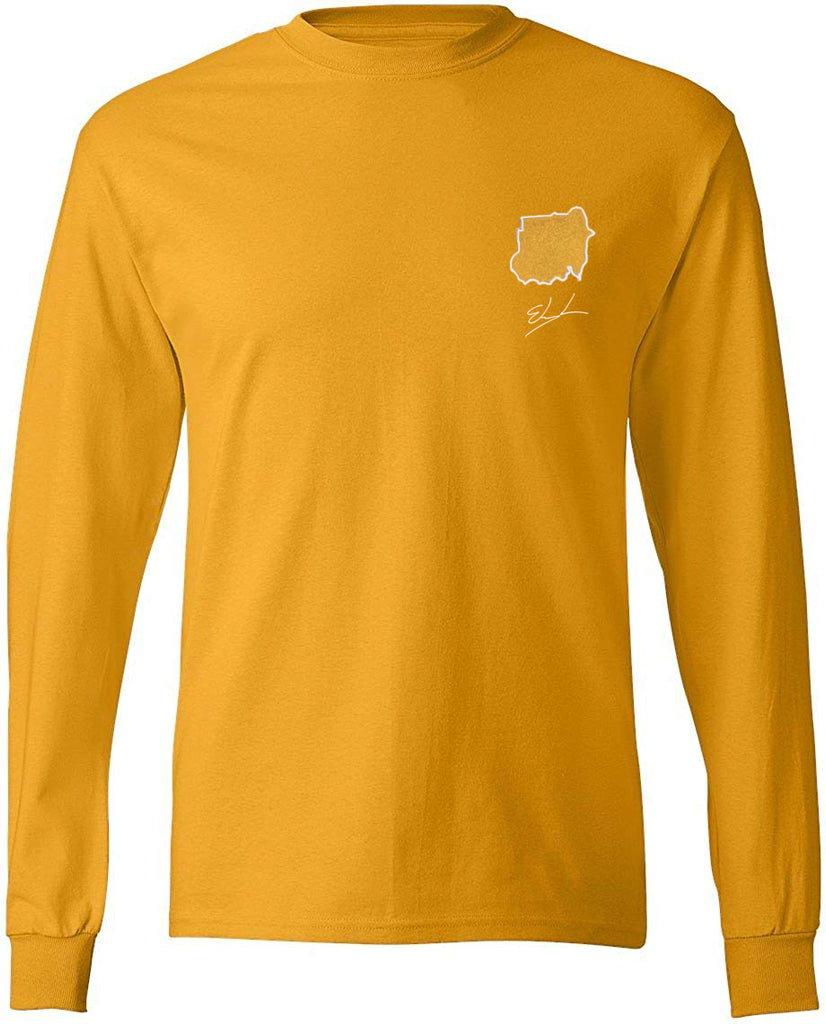 "Custom Long Sleeve ""Country T-shirt"" - Elrayah"