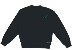 Lebanon Country Outline Crewneck - Elrayah's
