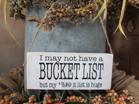 #2836 I may not have a bucket list (Little Chit)