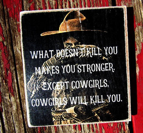 #2510  What doesn't kill you makes you stronger MAGNET