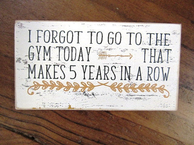 #2566 I forgot to go to the gym today MAGNET