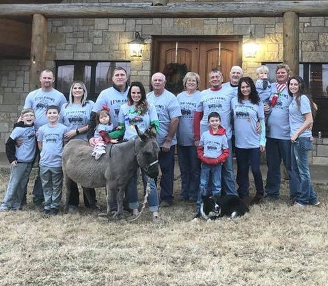 Custom Farm Shirts for the whole family