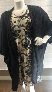 A Rayon Paisley Printed Dress
