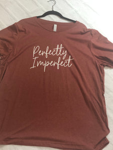 A perfectly imperfect t-shirt