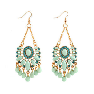 Women Bohemia Fashion Dangle Earings Eardrop Jewelry