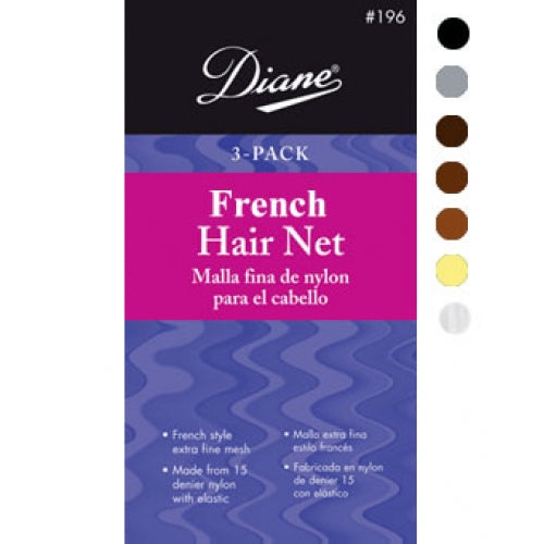 Invisible French Nets 3 Pack