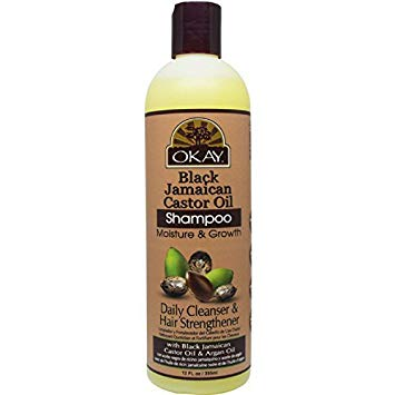 Okay Black Jamaican Castor Oil Shampoo 12 Oz