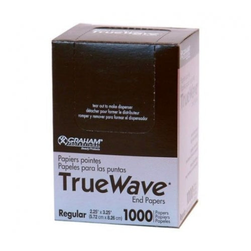 Graham Beauty TRUE WAVE End Papers - (Regular)  2-1/4 X 3-1/4""