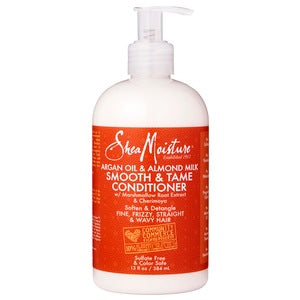 Shea Moisture Argan Oil & Almond Milk Smooth & Tame Conditioner 13 oz